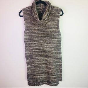 Massimo Dutti Wool/Alpaca Blend Tunic Sweater